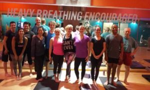 Yoga Class at Crunch Fitness Yerba Buena