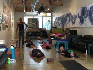 Yoga Class Castro District San francisco