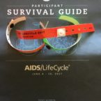 AIDS/LIFECYCLE SURVIVAL GUIDE BROUCHURE