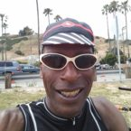 AIDSLIFECYCLE CYCLIST SMILING