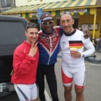 Team Germany and Cyclist Tony Eason