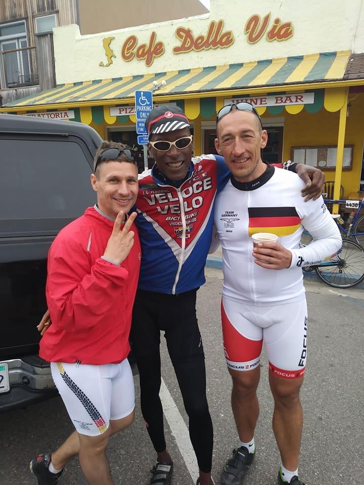 Team Germany and Cyclist Tony Eason