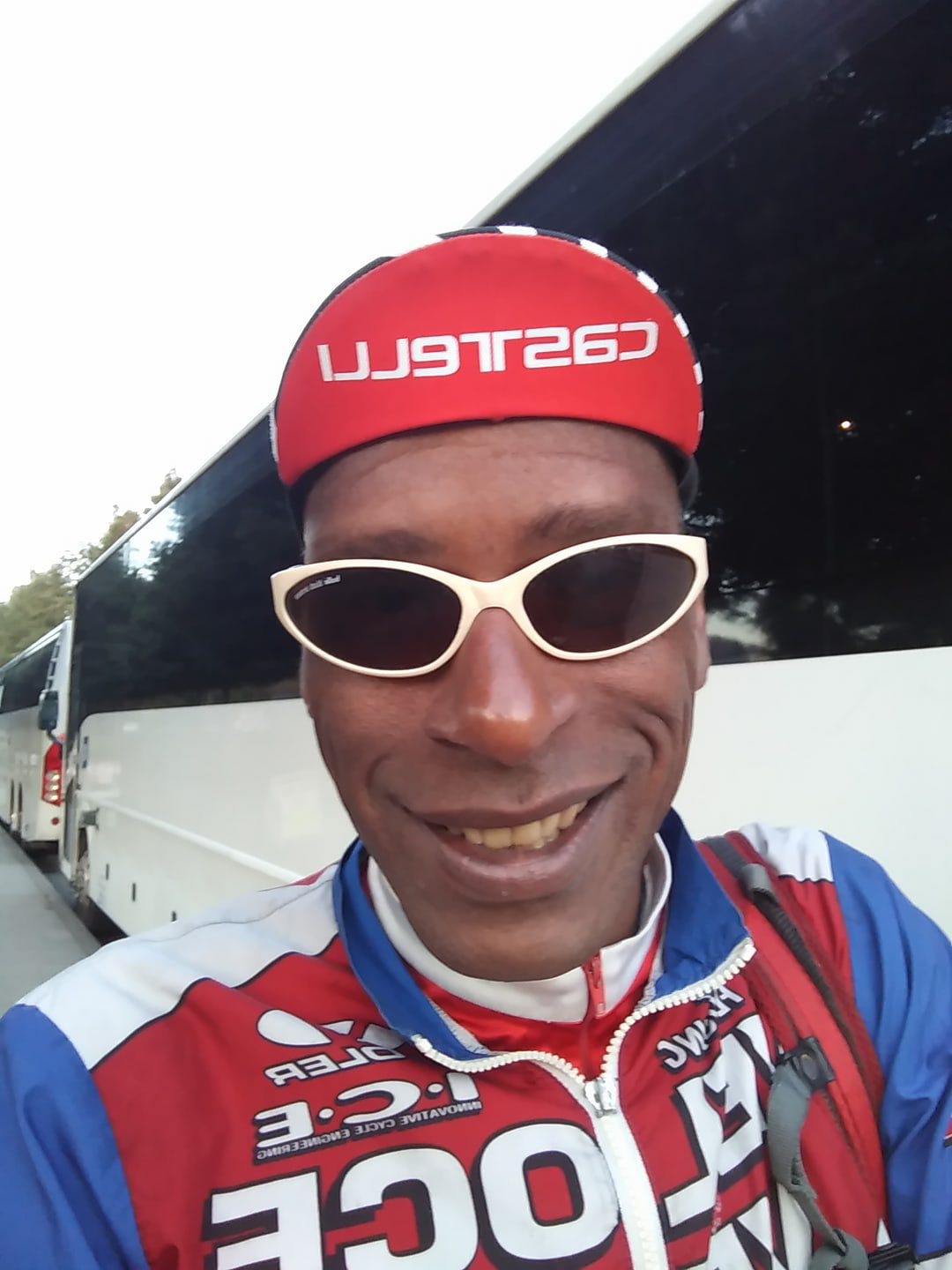 AIDSLIFECYCLE 2017 RIDER SMILING