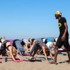 Yoga teacher teaches in San francisco