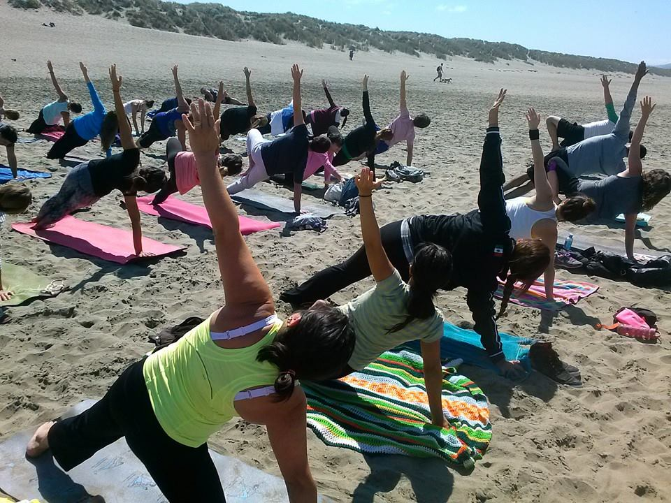 Free Yoga on the beach