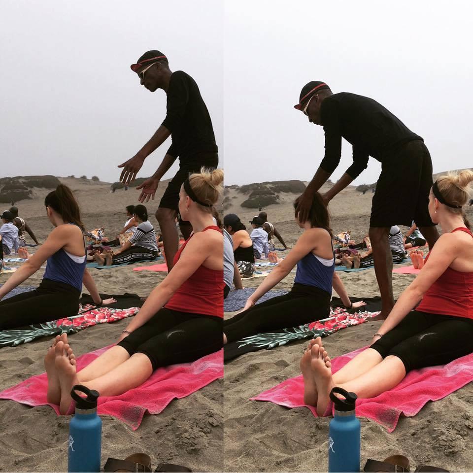 Yoga Teacher Tony Eason SF