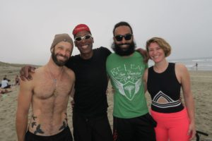 Four Yoga teachers in San francisco