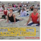 Yoga Students Ocean Beach San Francisco