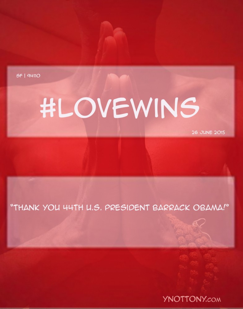 #Lovewins-Obama