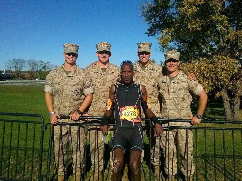 Marine Coprs Marathoner, Tony Eason