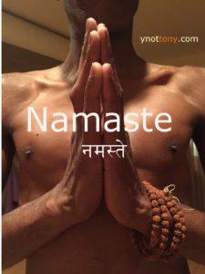 Online Yoga Instructor Namaste Hands