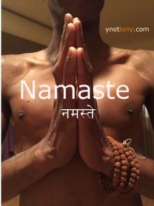 Namaskar Hands - Yoga Pose
