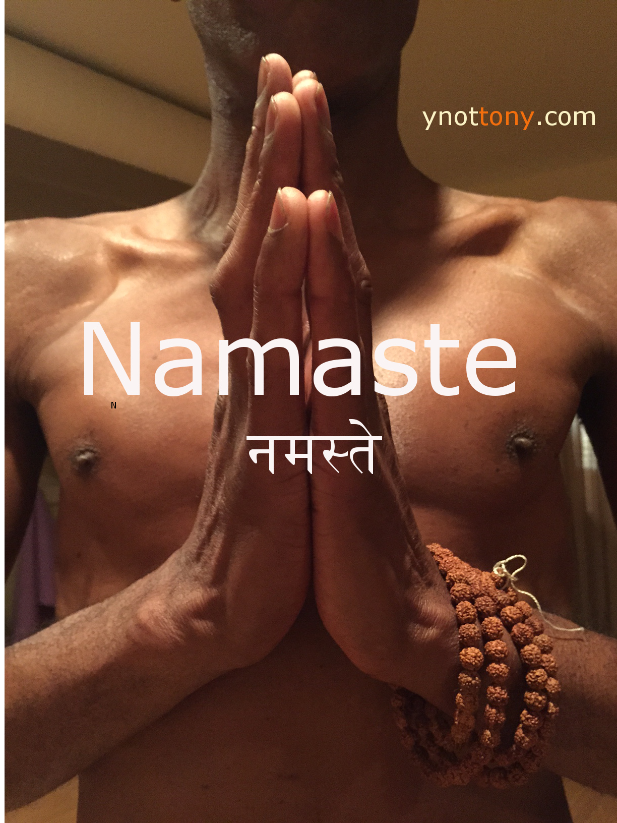 Namaskar Hands - Yoga Pose