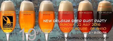 New Belgium Brewing Flyer