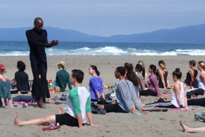 Outdoor Yoga Classes with San Francisco yoga teacher