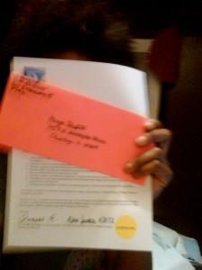 An  Invitation to Oprah Winfrey & Harpo Studios