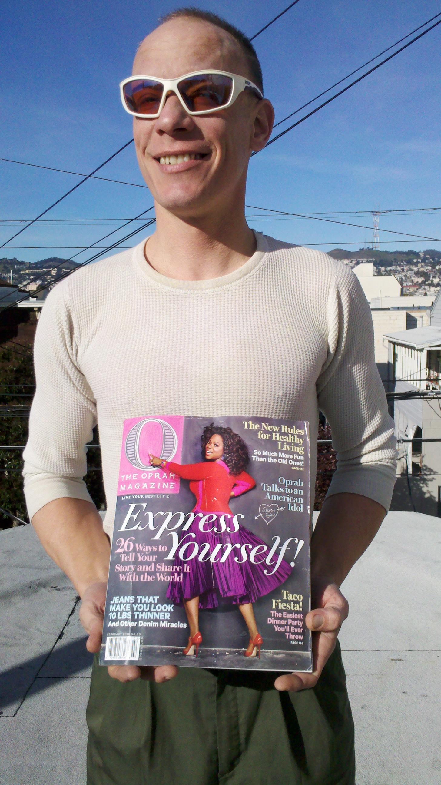 Oprah Winfrey Fan - Kyle