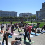 Free Yoga Class Civic Center San Francisco