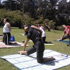 Outdoor San Francsco Yoga