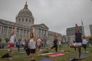 Outdoor Yoga | City Hall San Francisco
