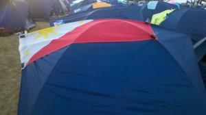 AIDS/Lifecycle Tent