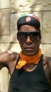 AIDS/Lifecycle Cyclist, Tony Eason's Face