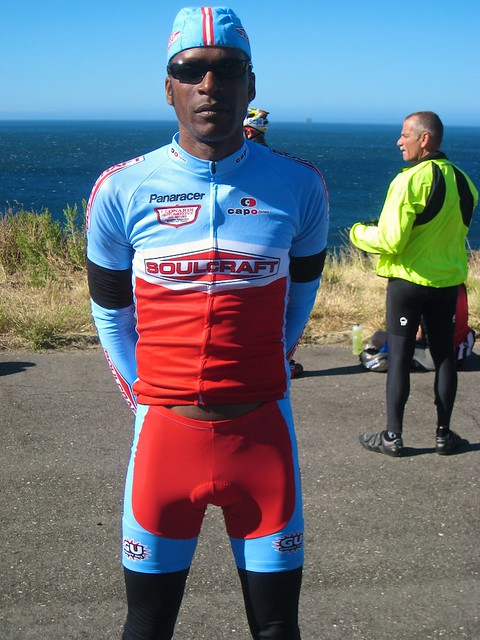 Cyclist Tony Eaon in Soulcraft Bike Kit