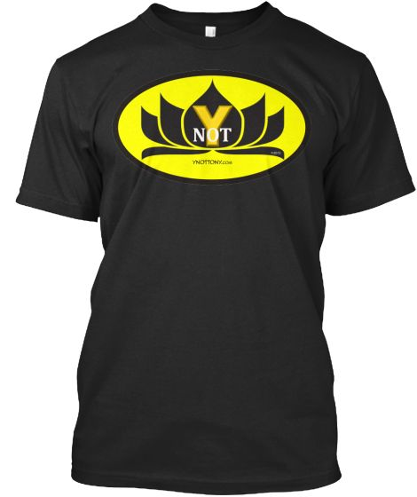 Ynot Superhero T-Shirt Black Color Batman Style