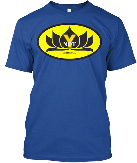 Ynot T-shirt Blue | Superman Style Blue