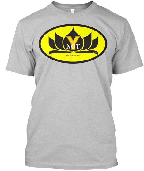 Ynot T-shirt | Batman Style Superhero Tee in Gray