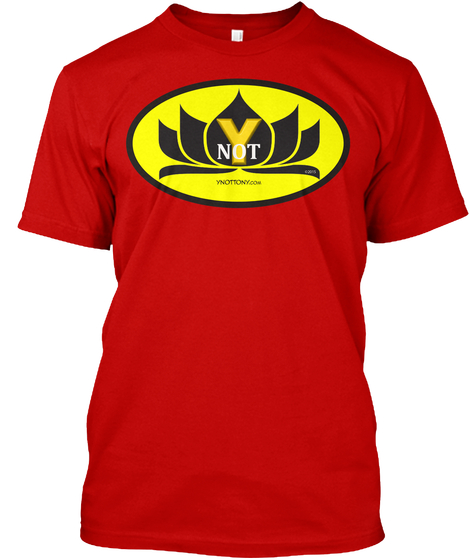 Ynot T-shirt In Red | superhero t-shirt
