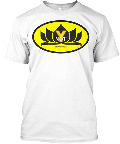 Ynot T-shirt. Batman Style in White