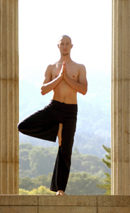 Yoga Teacher, Ben Dineen - Vrksasana