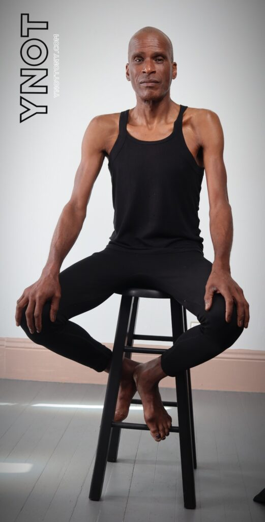 Yoga Online Instructor Tony Eason