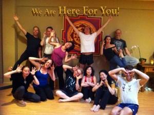 Yoga Tree SF Yoga Students