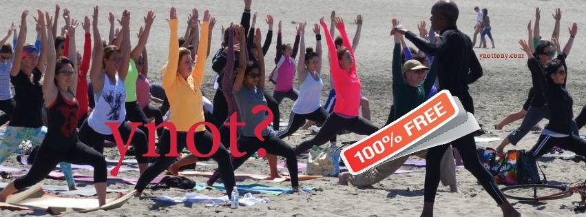Free Outdoor Yoga Class San Francisco