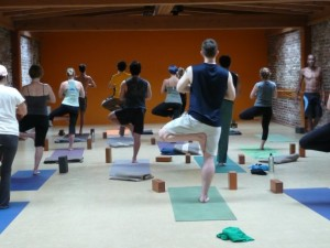 Iyengar Yoga Teacher teaches at James Howell Studio