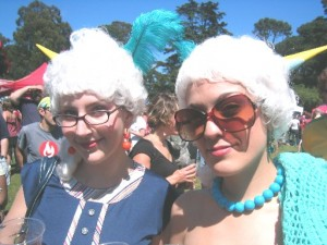 Beautiful Women in Costumes - Tour De Fat 2007