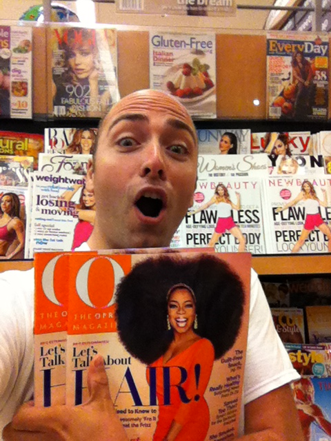 Oprah Winfrey's Afro Picture