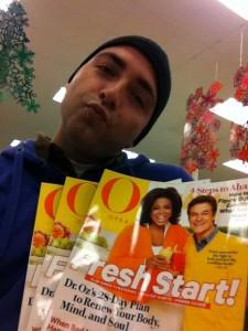 Oprah Winfrey Fan in Hollywood