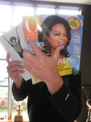 Oprah Winfrey Fan - AIDs Ride