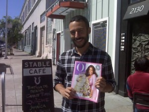 Oprah Winfrey Fan at Stable Cafe, San Francisco