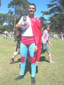 Super Hero Costume - Tour De Fat 2007