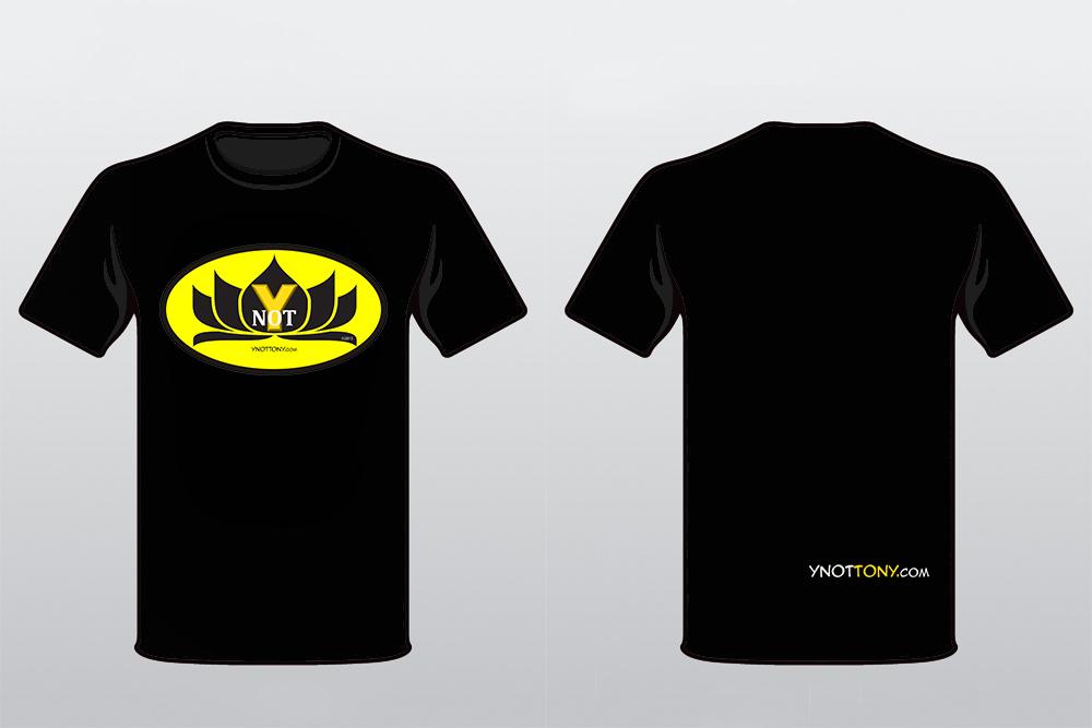 Black & Yellow Superhero T-shirt