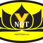 Ynot Tshirt Logo - Batman Style