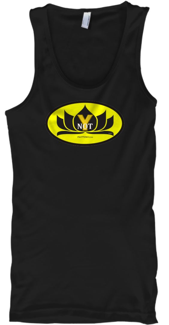 The Ynot Tshirt Tanktop in Black